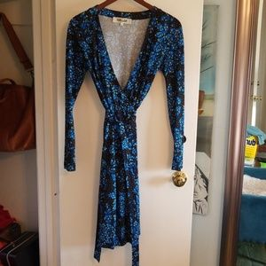 DvF New Jeanne wrap dress